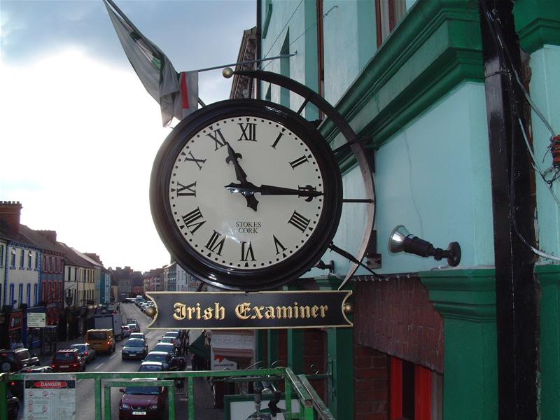 Stokes Clocks Clock Repairs Irelandoutdoor Clocks Two